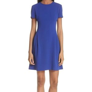 Theory Modern Seamed Fit and Flare Dress